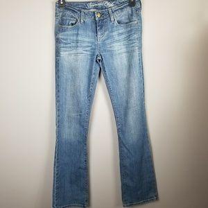American Eagle True Boot Jeans Sz 4 Womens